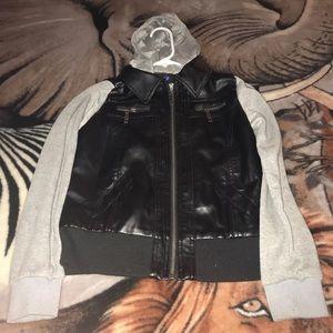 Girl's Leather Jacket
